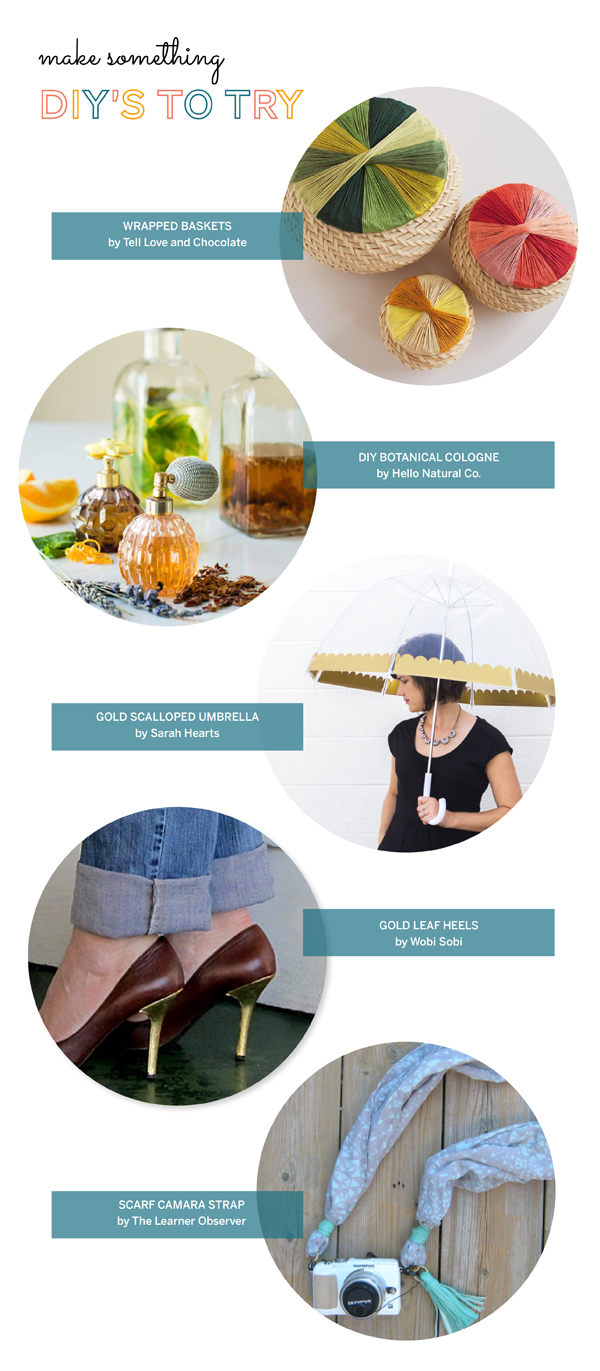 DIY'S to try / The Sweet Escape