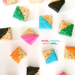 Funky Geometric Rice Treats / The Sweet Escape