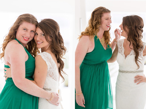 Emerald Green Bridesmaid Dress / THe Sweet Escape