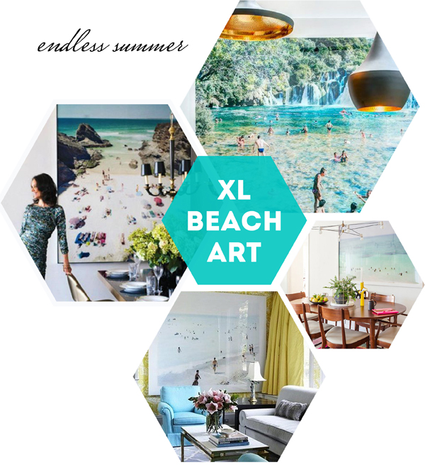 Oversized Beach Art / The Sweet Escape