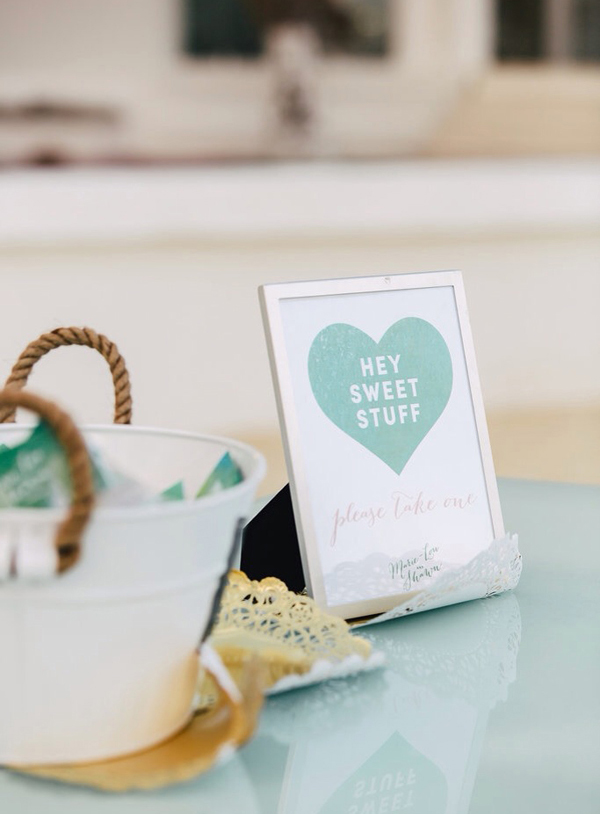 Emerald Green Watercolour theme wedding design / The Sweet Escape