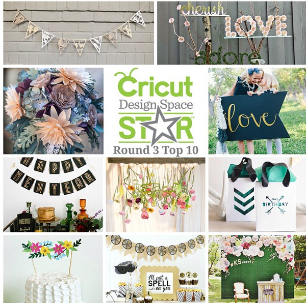 DESIGN: Cricut Design Space Star Top 10