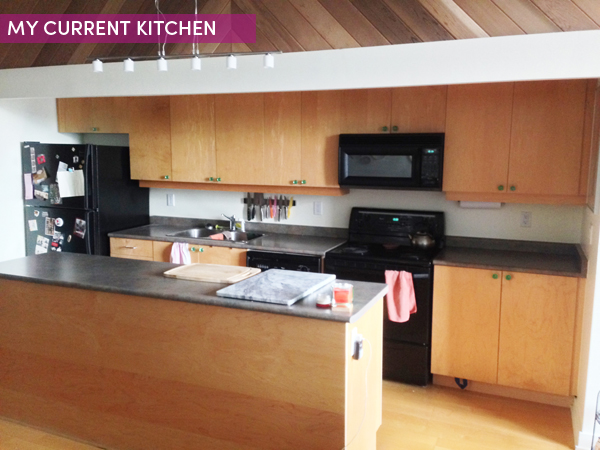 Kitchen Makeover: Before picture / The Sweet Escape