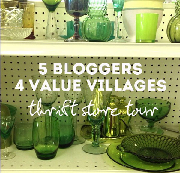 value village savers thrift store blogger tour / The Sweet Escape