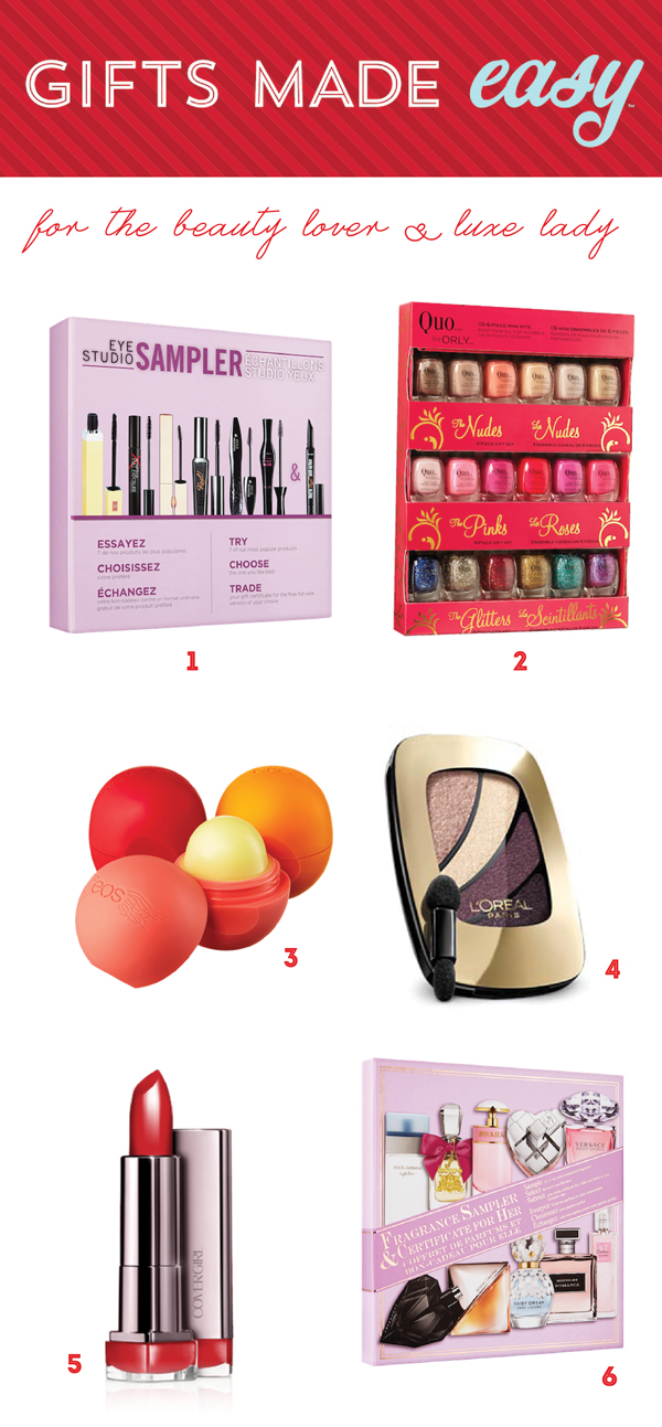 Stocking Stuffers for the Beauty lover / The Sweet Escape