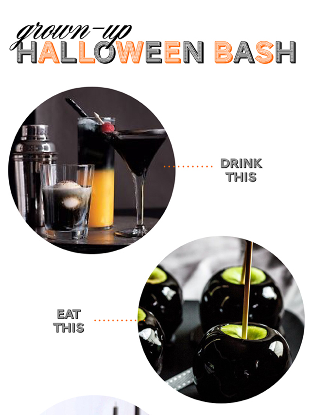 glam halloween party, halloween party ideas