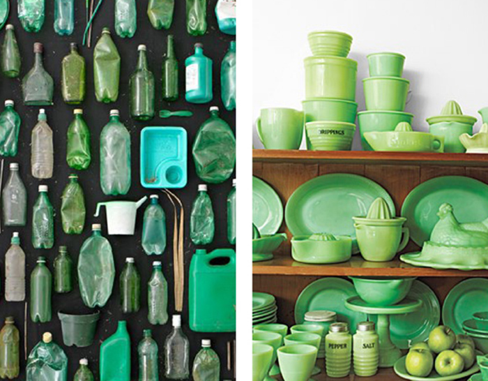 Green Color Collection Inspiration
