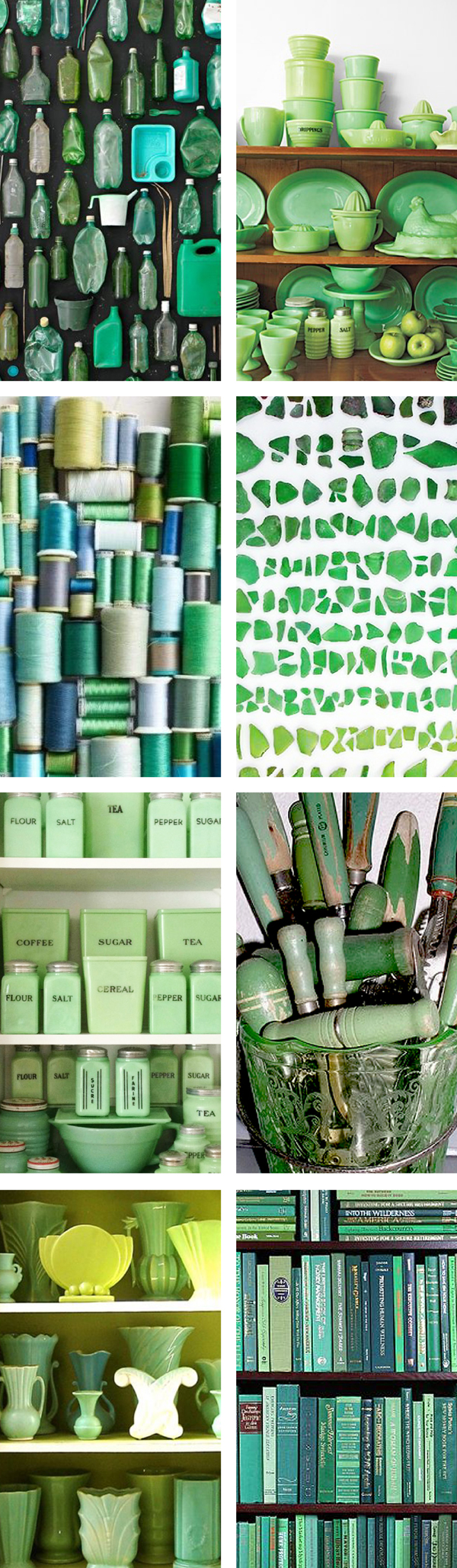 green colour collection / The Sweet Escape