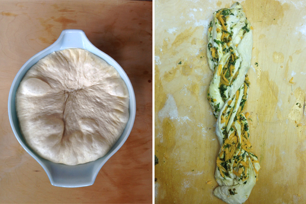 jalapeno cheddar loaf recipe / The Sweet Escape