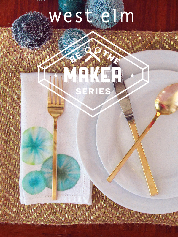 West Elm be the Maker Workshop with The Sweet Escape