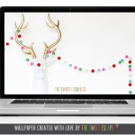 Free digital download / Christmas Deer / The Sweet Escape