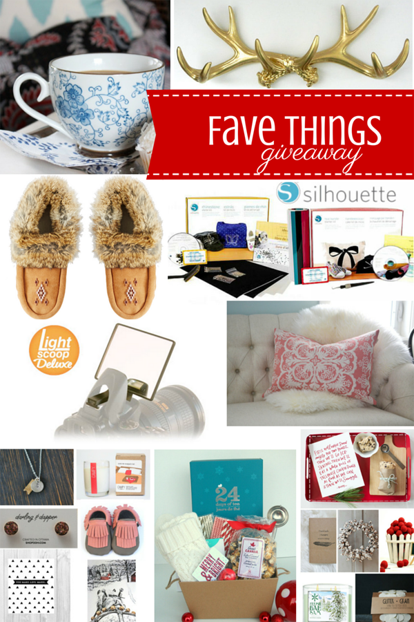 Holiday Fave Things Giveaway / The Sweet Escape
