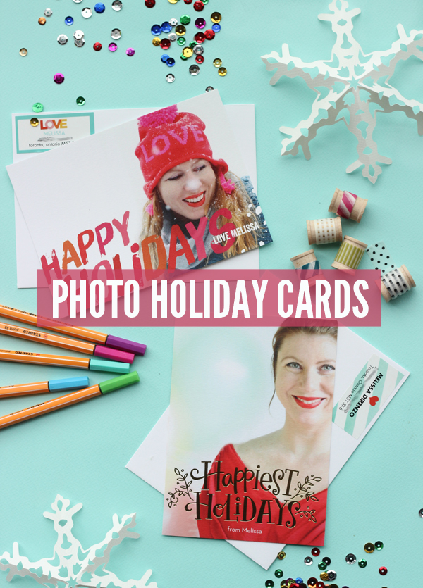 Christmas Holiday Photo Cards by Shutterfly / The Sweet Escape