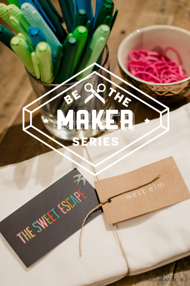 EVENTS: Be the Maker Series Dye Napkin workshop