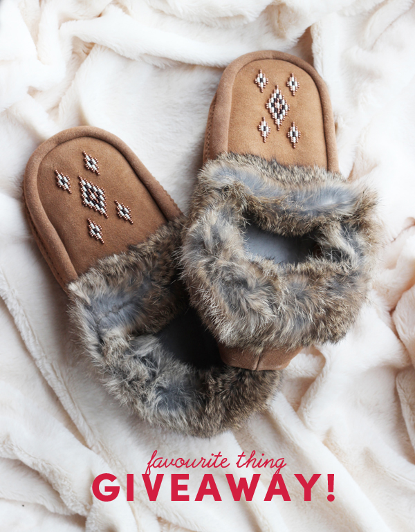 Favourite Things Giveaway / Suede Moccasins / The Sweet Escape