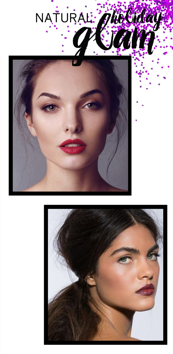 Holiday natural glam looks / The Sweet Escape