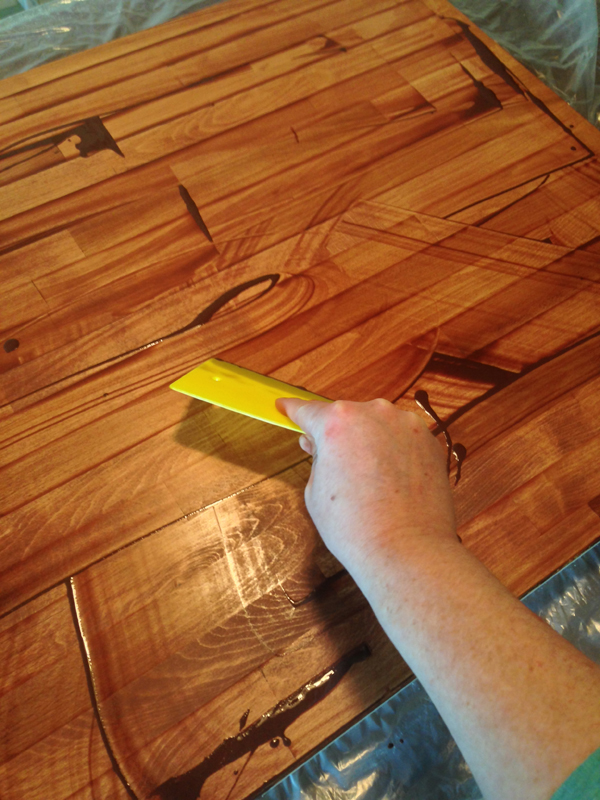 DIY butcher block island 5