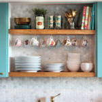 DIY Kitchen Open shelving & styling