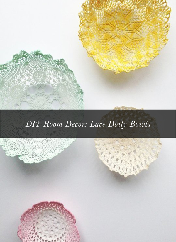 Melissa's Top Ten Apartment Therapy Home Decor Posts: Doily DIY