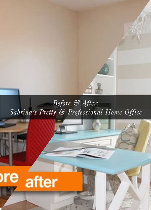 Melissa's Top Ten Apartment Therapy Home Decor Posts: home office makeover