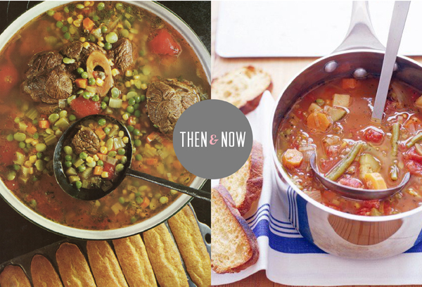 Then & Now Recipes / The Sweet Escape