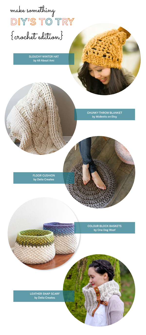 DIY Crochet Projects / The Sweet Escape