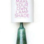 DIY Make your own lamp shade / THe Sweet Escape