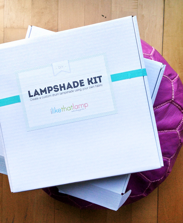 DIY lamp shade kit