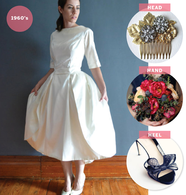SAY I DO: how to style a vintage wedding dress