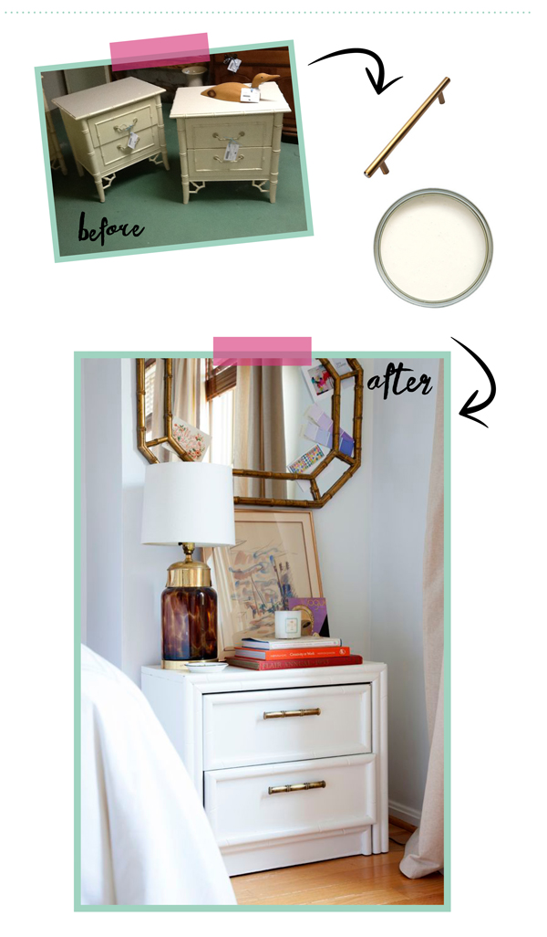 consignment furniture makeover / The Sweet Escape