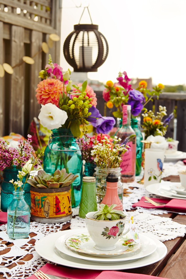 Summer Patio Dinner Party