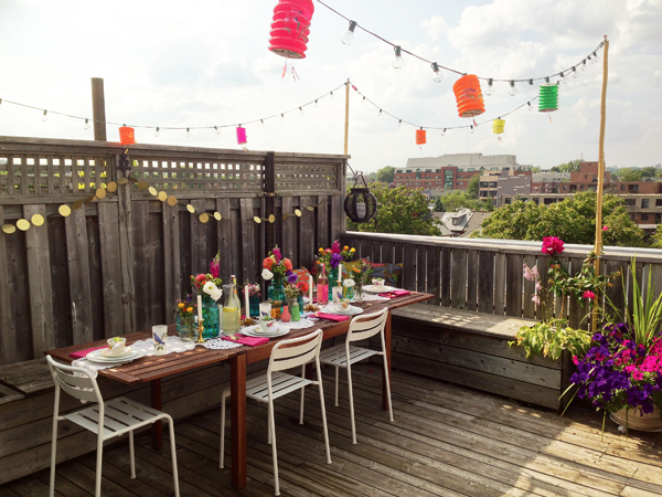 Rooftop Summer Dinner Party