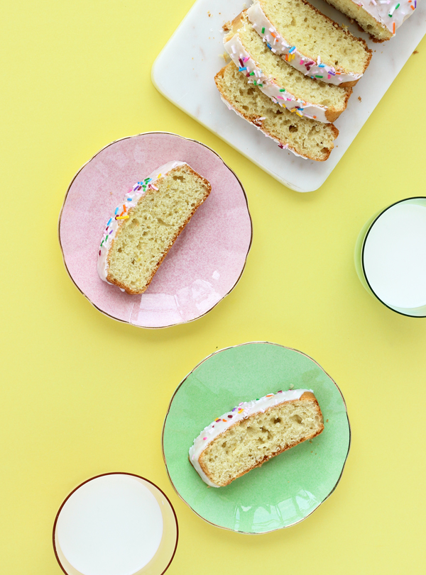 Easter Sprinkle Cake by The Sweet Escape