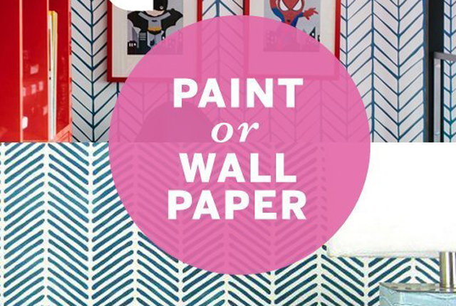 DESIGN QUIZ: Is it paint or wallpaper?
