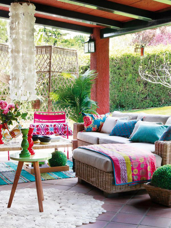 10 boho outdoor spaces to drool over / The Sweet Escape