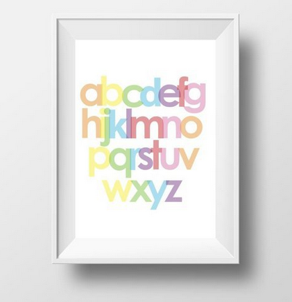 FREEBIES: 11 Colorful Free Printable Posters for Your Space