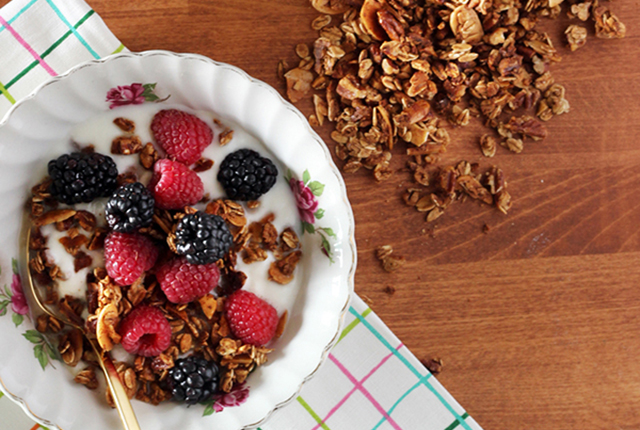 GOOD EATS: Convection Oven Granola Recipe