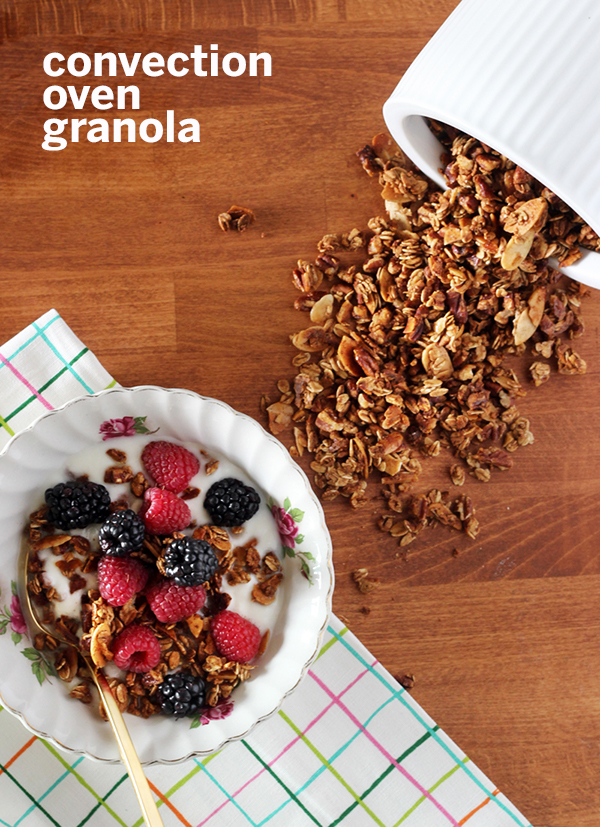 convection oven granola recipe - The Sweet Escape