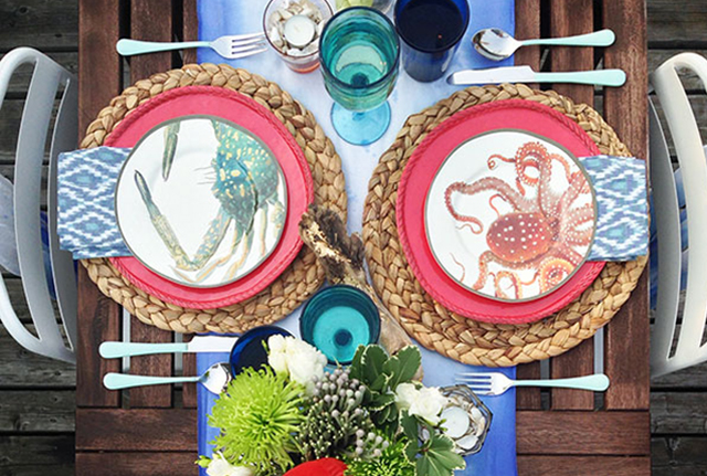 DECOR: Under the Sea Outdoor Tablescape