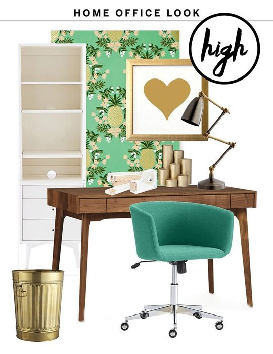 Home Office High/Low Look