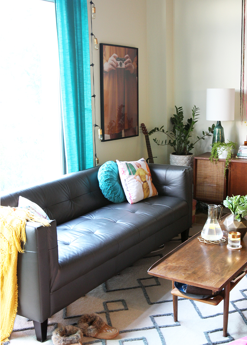 SPACES My Loft Living Room Makeover The Sweet Escape Creative