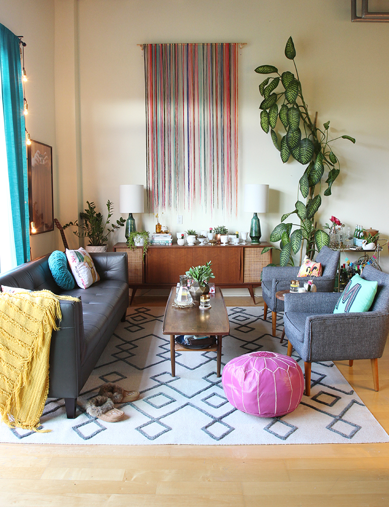 SPACES: My Loft Living Room Makeover