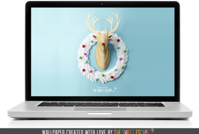 Holiday-Deer-Free-Desktop-Wallpaper-Download-by-the-Sweet-Escape