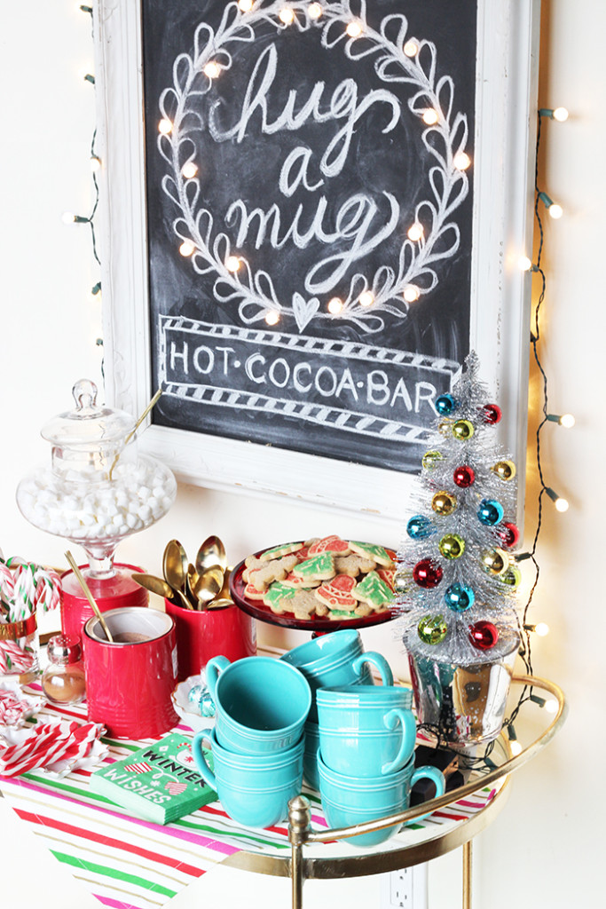 Introducing Merry Mag Holiday + DIY Hot Cocoa Bar