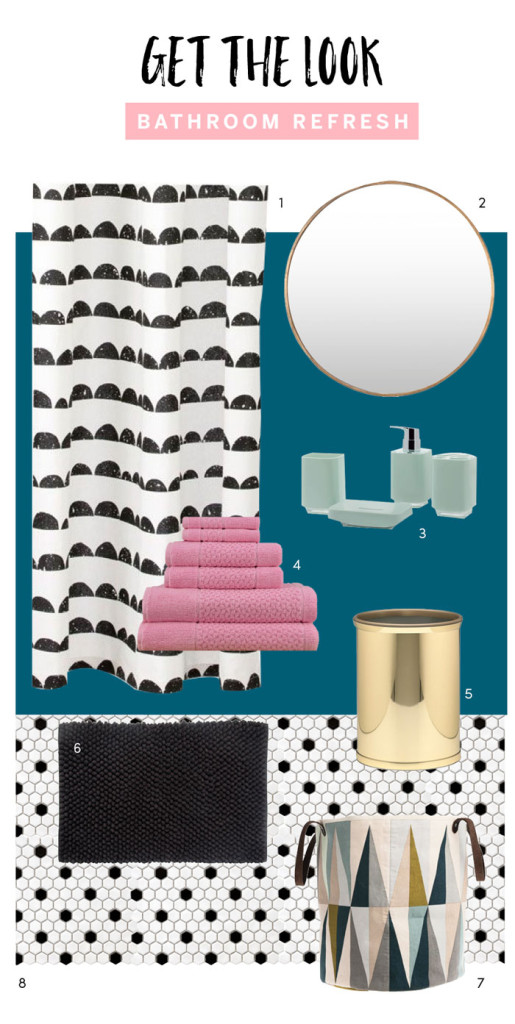 Bathroom Refresh Look by The Sweet Escape
