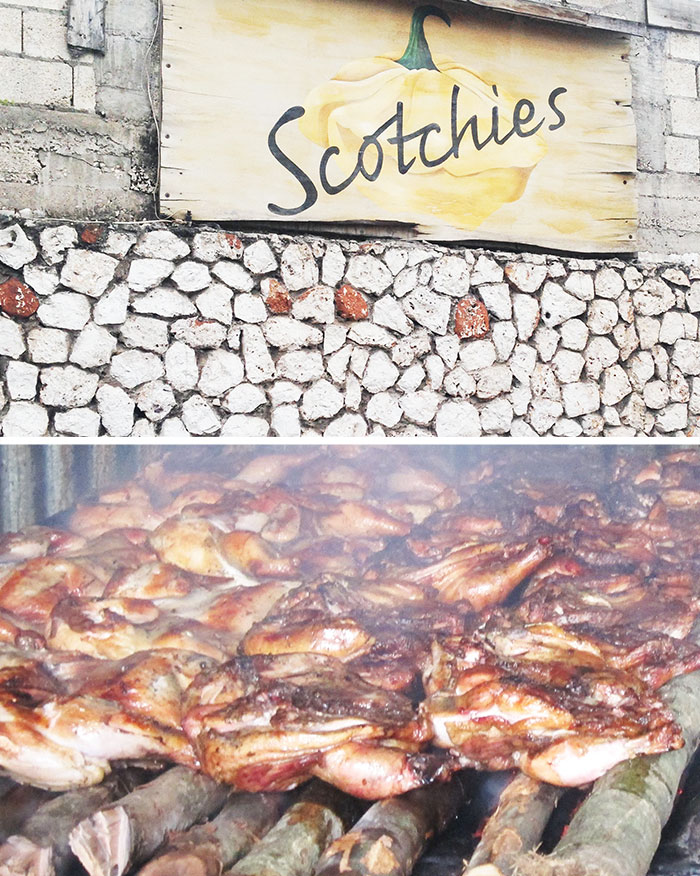 Scotchies Jerk Chicken in Montego Bay Jamaica