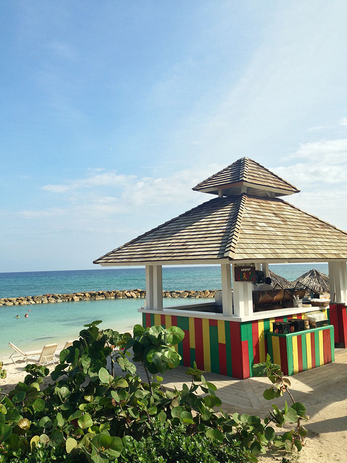 Jamaican Jerk Shack on the beach in Montego Bay - travel blog by The Sweet Escape