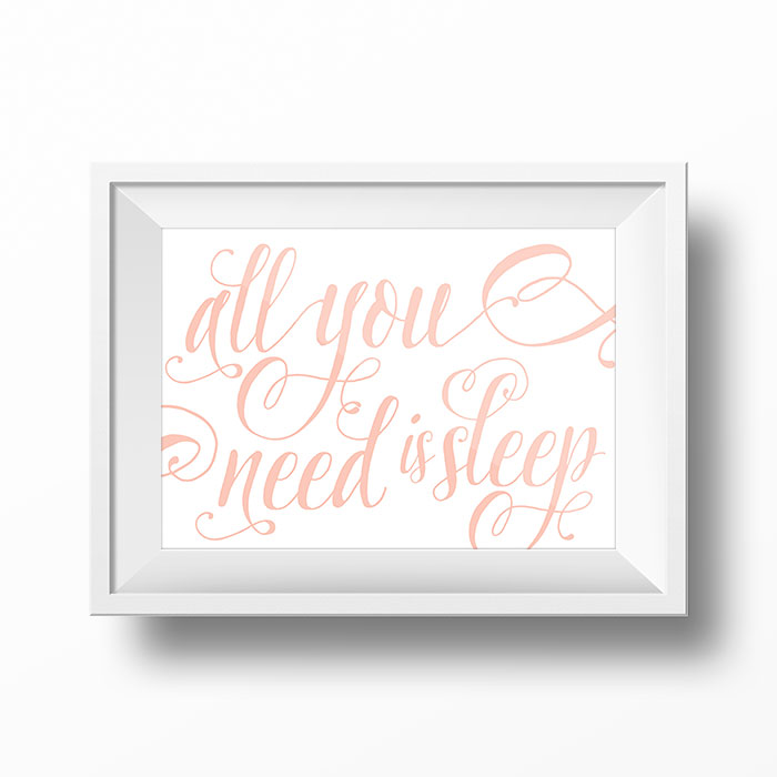 Custom Type Wall Art by The Sweet Escape