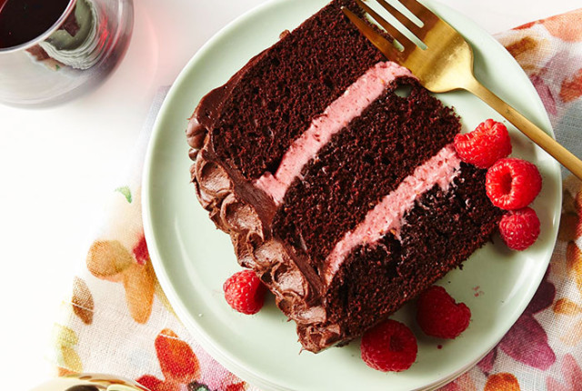 Red Wine Chocolate Cake Stop MOtion video Recipe by The Sweet Escape