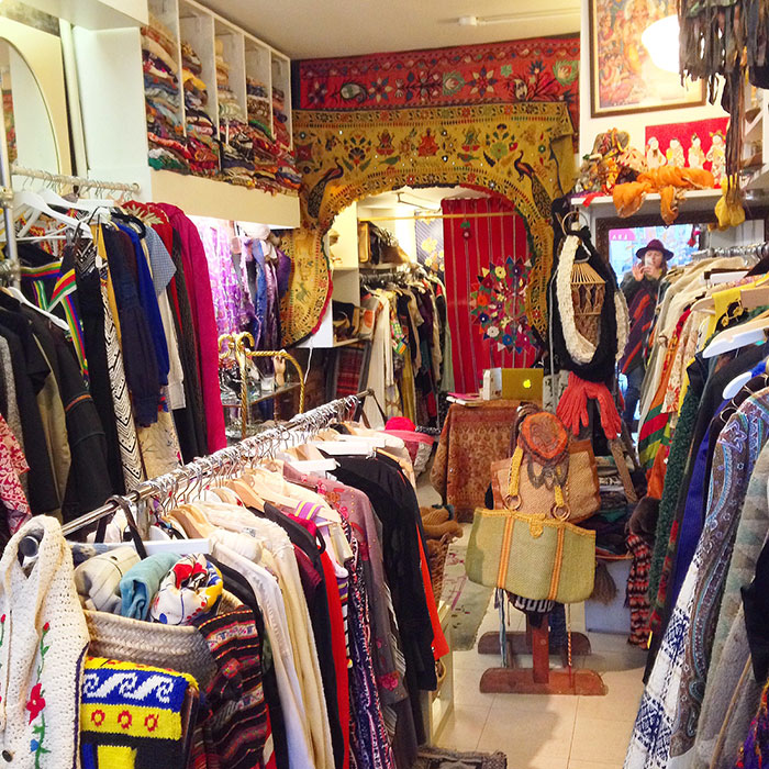 Nomad Vintage Store in NYC - Travel Post by The Sweet Escape